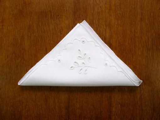Guardanapo bordado para mesa de jantar guirlanda decoração