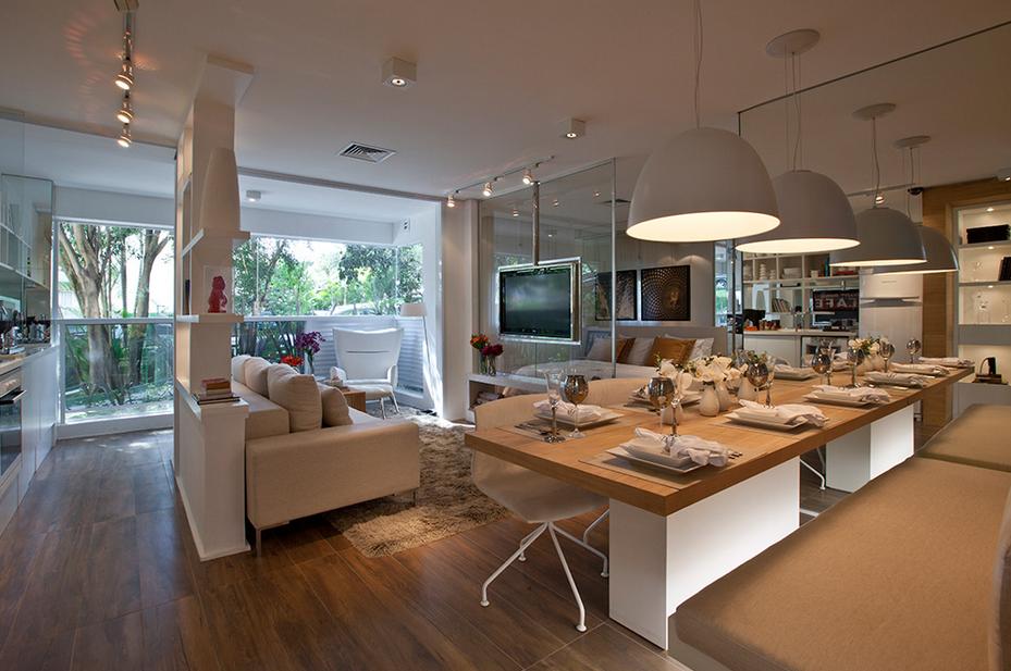Ambientes guirlanda confec o cama mesa e banho for Salas de estar acogedoras