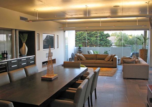 Sala De Jantar Com Copa ~ Sala de jantar e estar integrados em um só ambiente