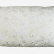 ALM055 – ALMOFADA SEDA OFF WHITE BORDADA FLORES